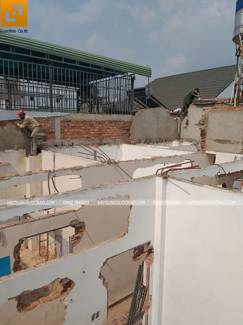 Khởi công xây dựng nhà phố 3 tầng kết hợp quán cafe tại Biên Hòa - Ảnh 6