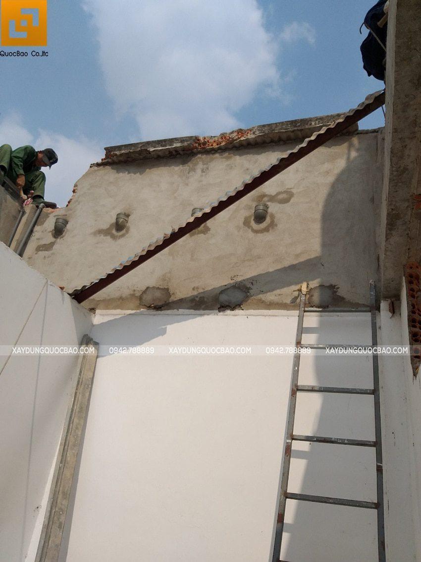 Khởi công xây dựng nhà phố 3 tầng kết hợp quán cafe tại Biên Hòa - Ảnh 9