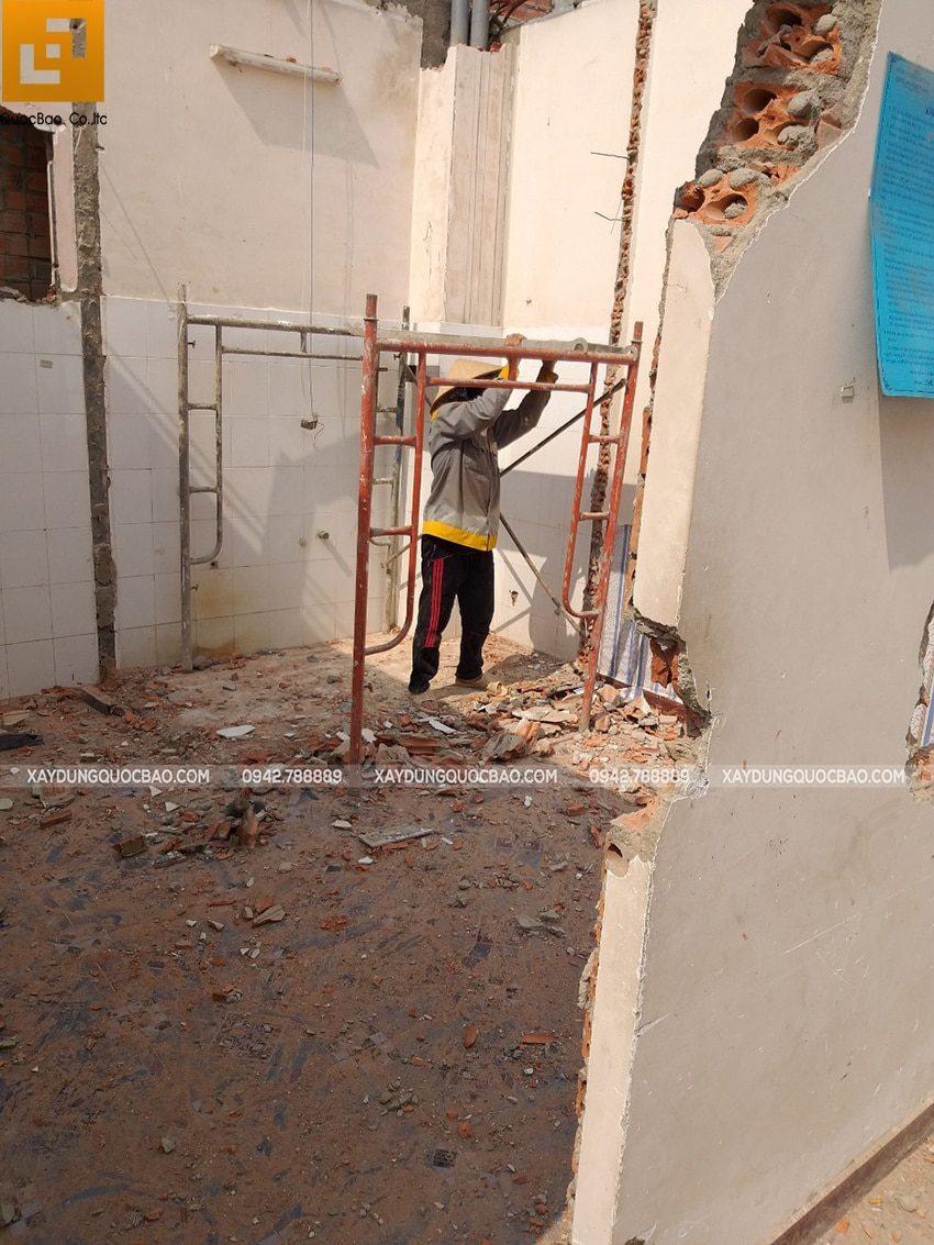 Khởi công xây dựng nhà phố 3 tầng kết hợp quán cafe tại Biên Hòa - Ảnh 8
