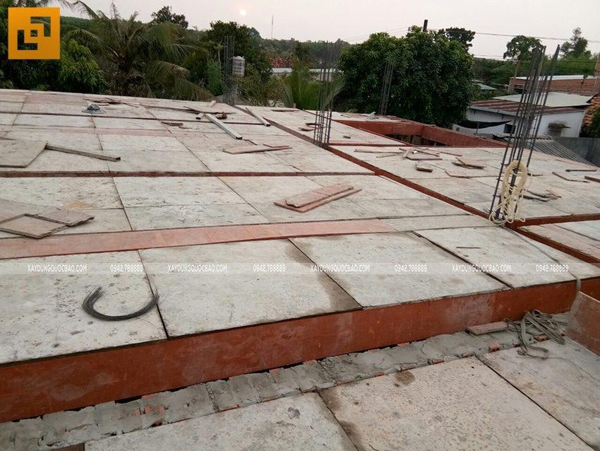 Lắp đặt coppha dầm, sàn lầu 1 - Ảnh 1