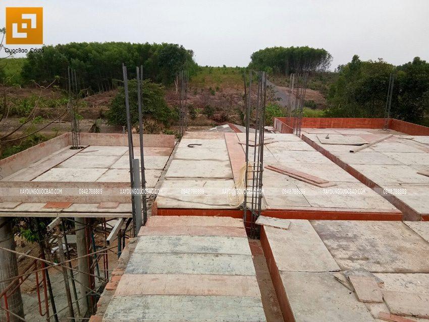 Lắp đặt coppha dầm, sàn lầu 1 - Ảnh 2