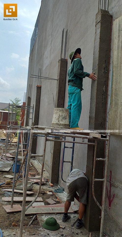 Thi công phần móng nhà phố 3 tầng - Ảnh 11