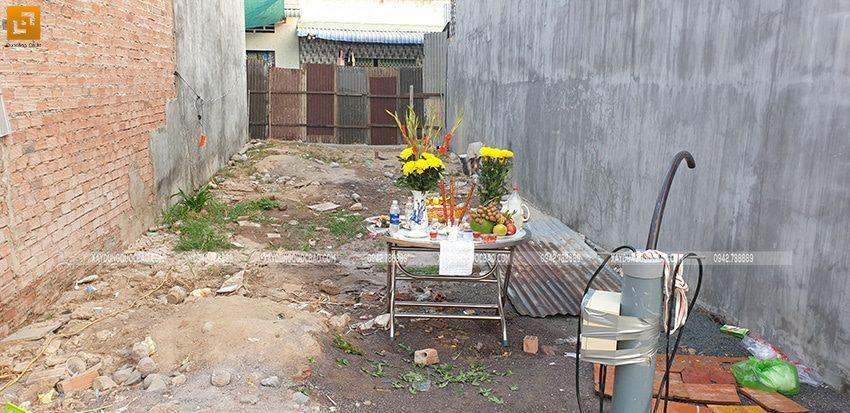 Khởi công nhà ở kết hợp kinh doanh tại Vĩnh Cửu - Ảnh 1