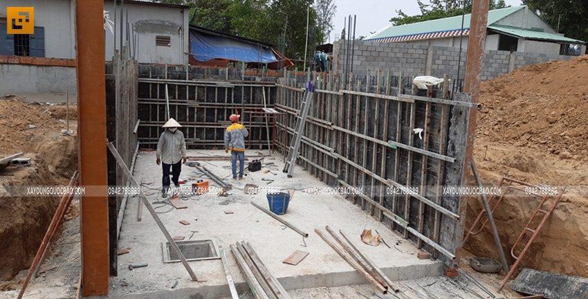 Thi công phần móng và tầng hầm - Ảnh 4