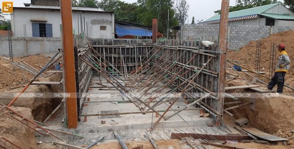 Thi công phần móng và tầng hầm - Ảnh 6