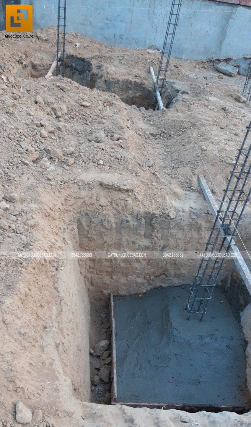 Thi công phần móng và tầng hầm - Ảnh 1