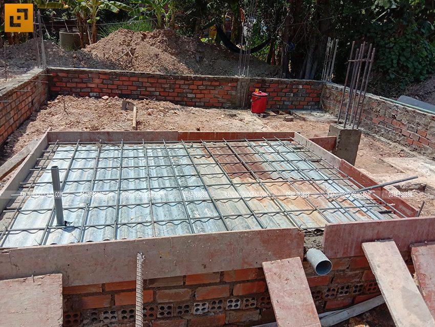 Thi công phần móng nhà 3 tầng - Ảnh 6