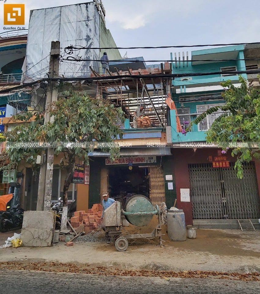 Công trình thi công tại đường Nguyễn Ái Quốc, Biên Hòa