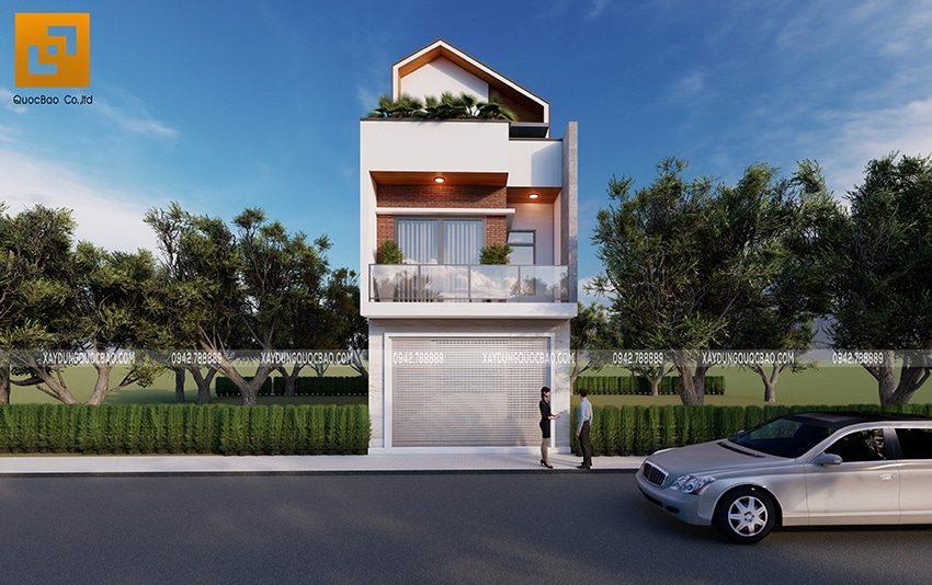 Thiết kế nhà ở kết hợp kinh doanh mặt tiền 5m tại Vĩnh Cửu, Đồng Nai