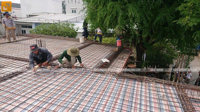 Công tác đan cốt thép 2 lớp dầm, sàn - ảnh 3