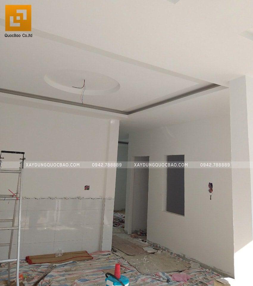 Thi công tấm trần thạch cao trang trí nội thất - Ảnh 6
