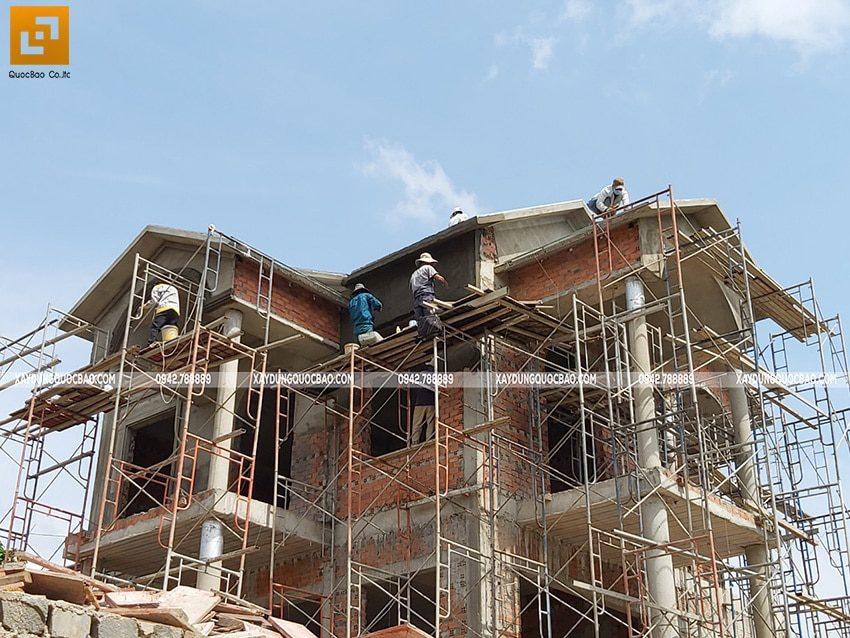 Thi công tô trát tường, dầm, sàn, cột - Ảnh 7