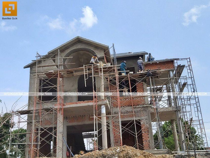Thi công tô trát tường, dầm, sàn, cột - Ảnh 1