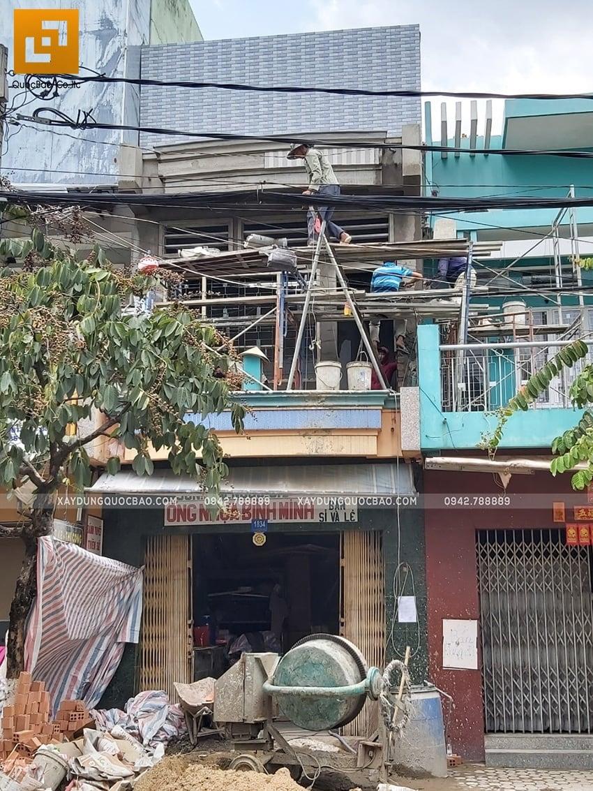 Hoàn thiện nhà phố 2 tầng kết hợp kinh doanh