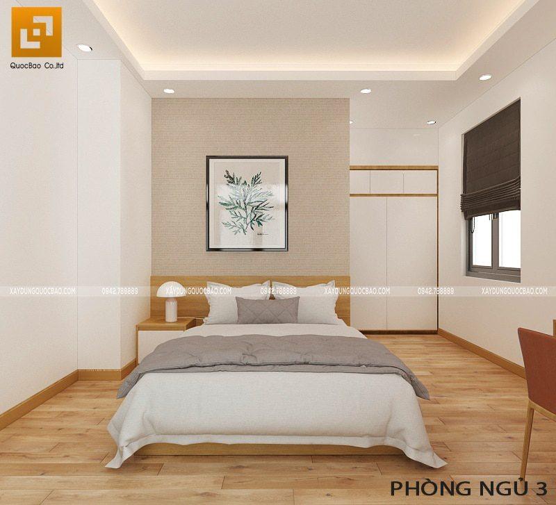Thiết kế nội thất phòng ngủ tại lầu 1