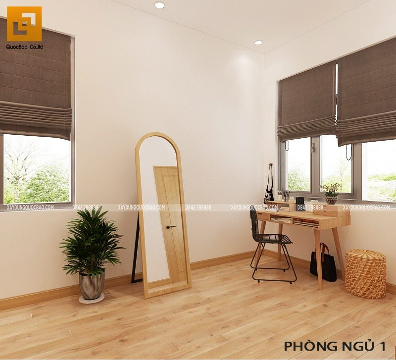 Khu vực bàn làm việc, trang điểm trong phòng ngủ