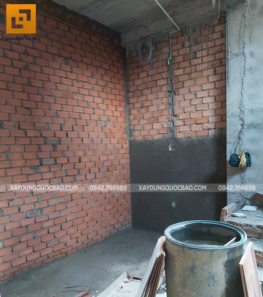 Tô trát tường, láng nền tạo mặt phẳng để chuẩn bị lăn sơn nước
