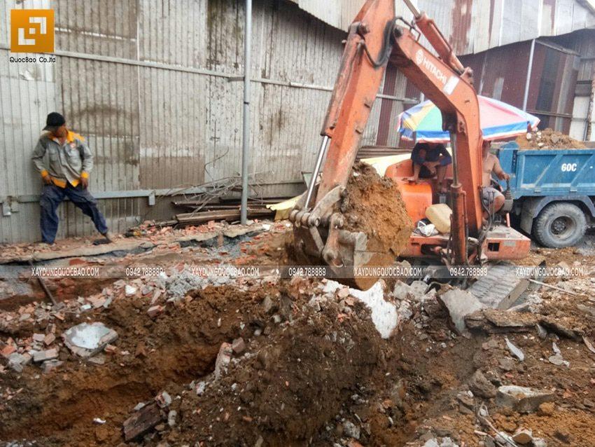 Khởi công nhà phố 3 tầng kết hợp kinh doanh tại Biên Hòa - Ảnh 1
