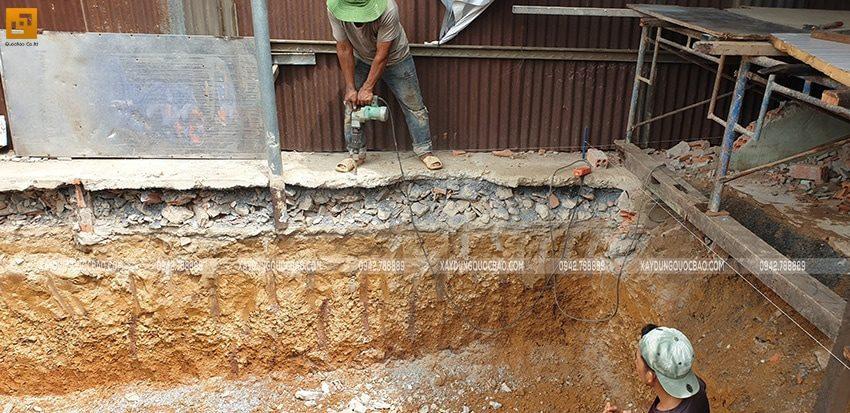 Khởi công nhà phố 3 tầng kết hợp kinh doanh tại Biên Hòa - Ảnh 6