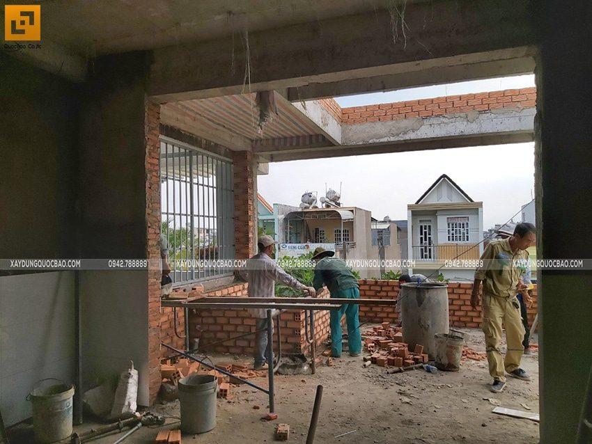 Thi công hoàn thiện nhà phố 3 tầng - Ảnh 2