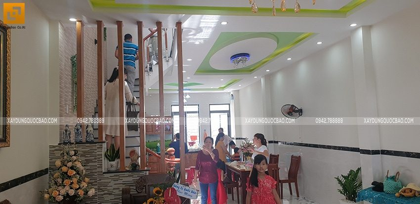 Bàn giao ngôi nhà 3 tầng của anh Tấn tại Biên Hòa, Đồng Nai - Ảnh 6