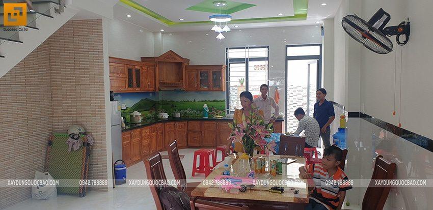 Bàn giao ngôi nhà 3 tầng của anh Tấn tại Biên Hòa, Đồng Nai - Ảnh 11