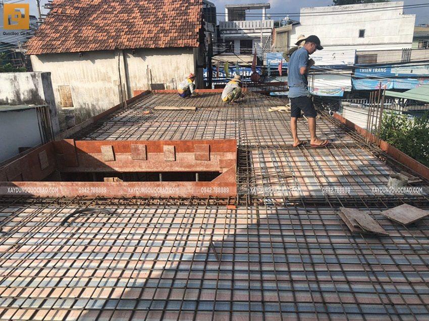 Đan cốt thép 2 lớp gia tăng sức bền cho công trình