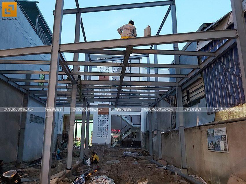 Thi công lắp ghép quán coffee khung thép tại Biên Hòa - Ảnh 15