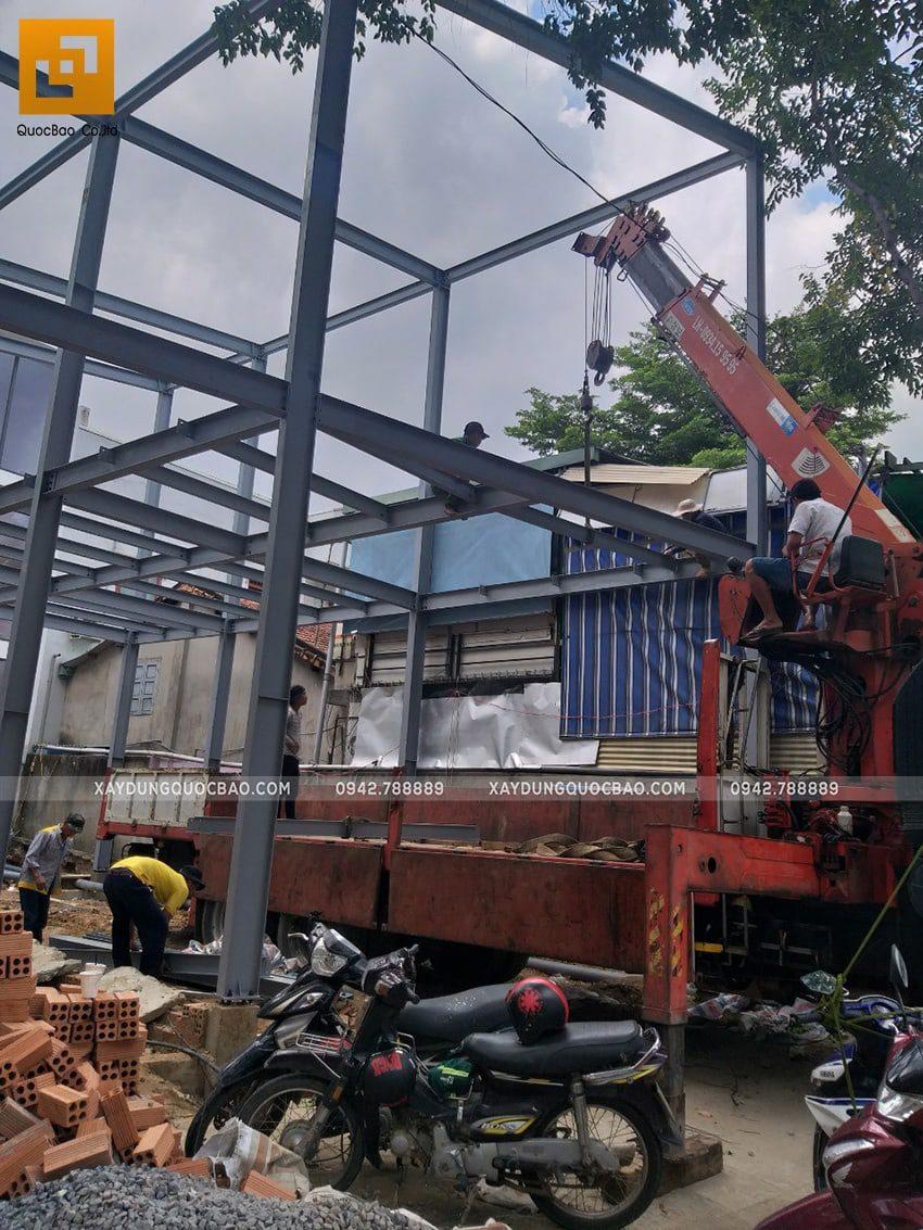 Thi công lắp ghép quán coffee khung thép tại Biên Hòa - Ảnh 14