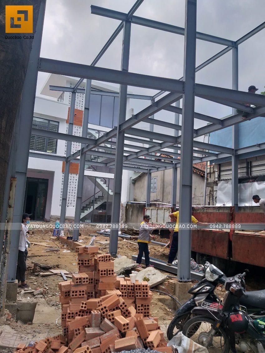 Thi công lắp ghép quán coffee khung thép tại Biên Hòa - Ảnh 13