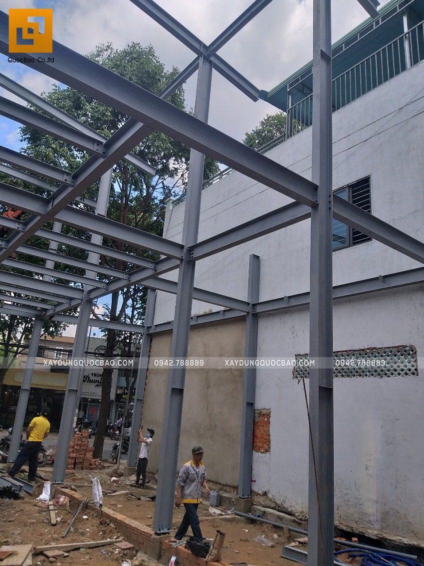 Thi công lắp ghép quán coffee khung thép tại Biên Hòa - Ảnh 10