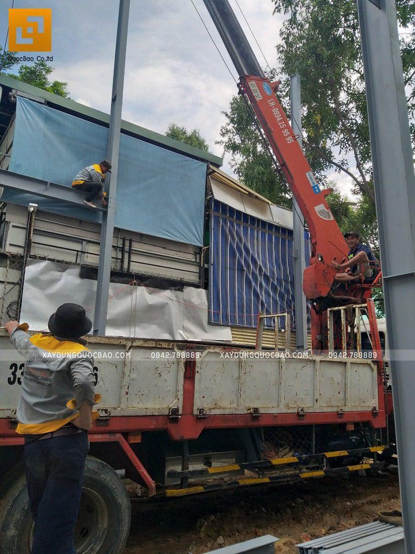 Thi công lắp ghép quán coffee khung thép tại Biên Hòa - Ảnh 3