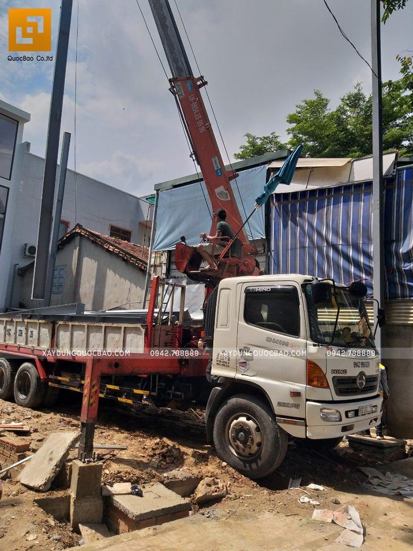 Thi công lắp ghép quán coffee khung thép tại Biên Hòa - Ảnh 1