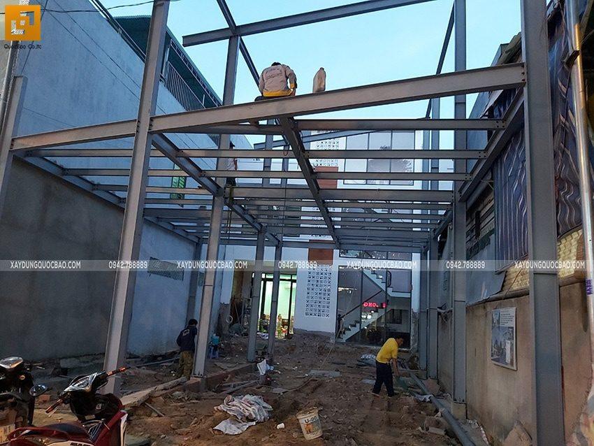 Thi công lắp ghép quán coffee khung thép tại Biên Hòa - Ảnh 16