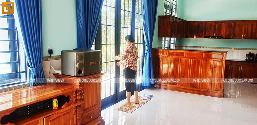 Bàn giao Biệt thự mái Thái 2 tầng tại Vĩnh Cửu - Ảnh 10