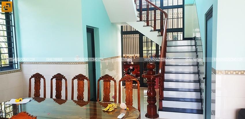 Bàn giao Biệt thự mái Thái 2 tầng tại Vĩnh Cửu - Ảnh 9