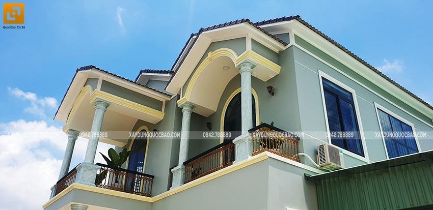 Bàn giao Biệt thự mái Thái 2 tầng tại Vĩnh Cửu - Ảnh 2