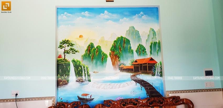 Bàn giao Biệt thự mái Thái 2 tầng tại Vĩnh Cửu - Ảnh 4