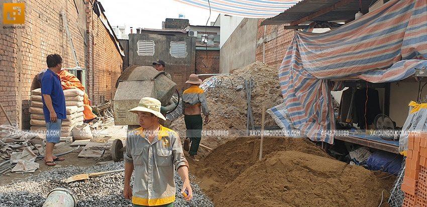 Khởi công thi công ngôi nhà 1 trệt 2 lầu tại Biên Hòa - Ảnh 16