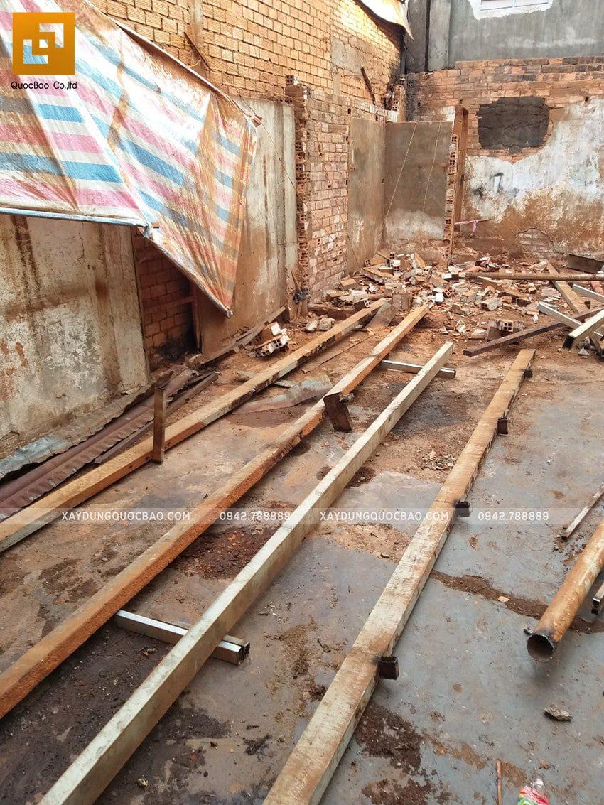 Khởi công thi công ngôi nhà 1 trệt 2 lầu tại Biên Hòa - Ảnh 5
