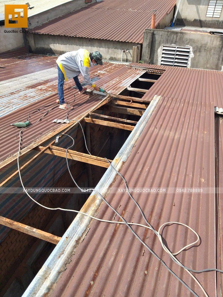Khởi công thi công ngôi nhà 1 trệt 2 lầu tại Biên Hòa - Ảnh 2
