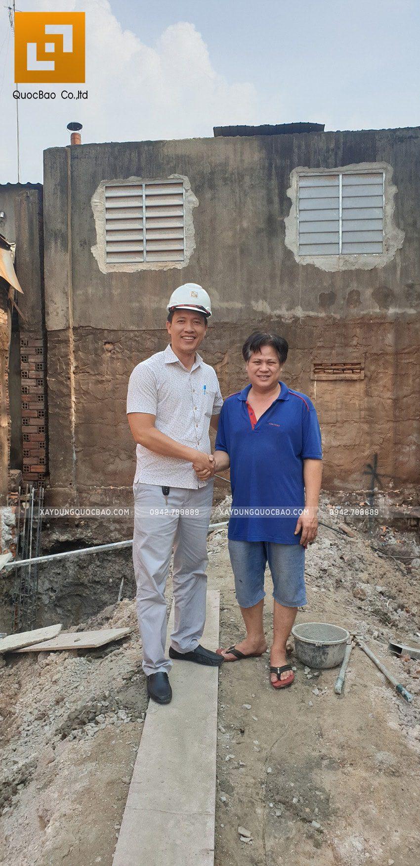 Khởi công thi công ngôi nhà 1 trệt 2 lầu tại Biên Hòa - Ảnh 10