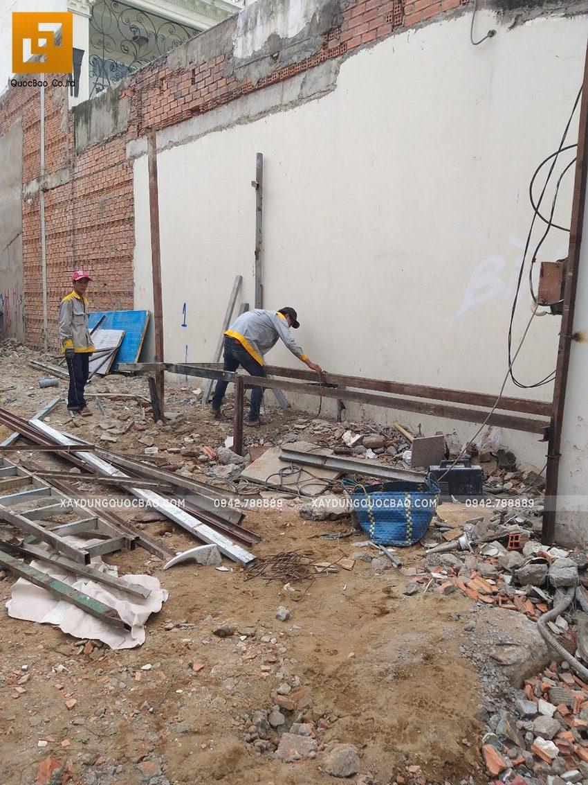 Khởi công thi công ngôi nhà 1 trệt 2 lầu tại Biên Hòa - Ảnh 9