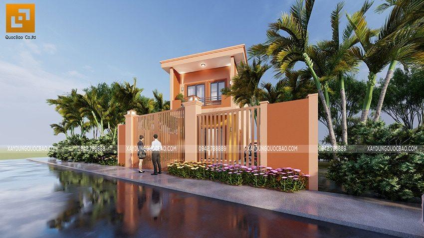 Không gian xanh là yếu tố rất cần thiết cho ngôi nhà vừa tô điểm cho ngoại thất, vừa giải nhiệt cho không gian sống