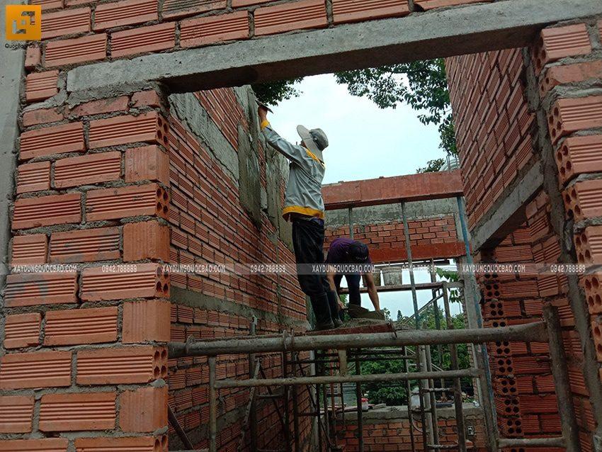 Công tác xây tường ngăn, vách ngăn - Ảnh 2