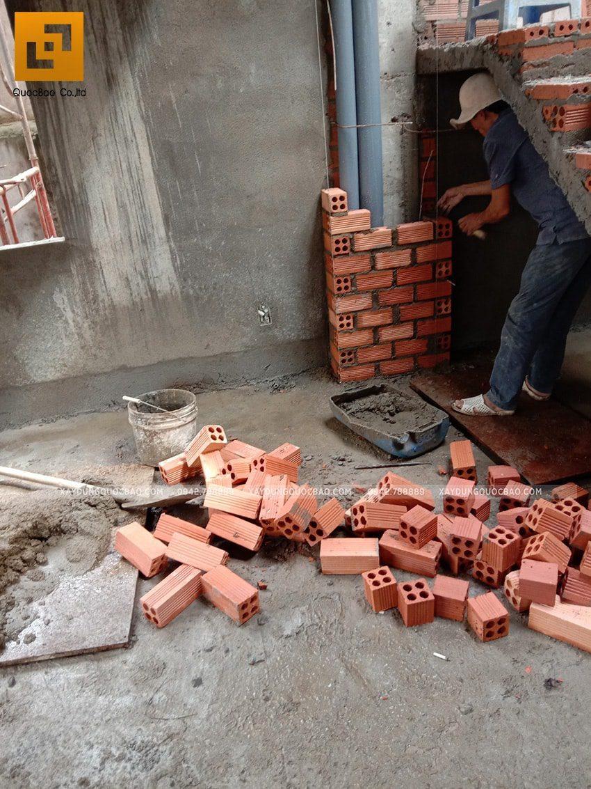 Thi công bảo vệ đường ống nước