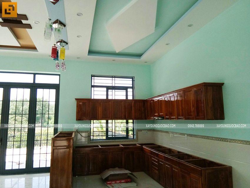 Lắp đặt tủ, kệ bếp và những thiết bị trong bếp