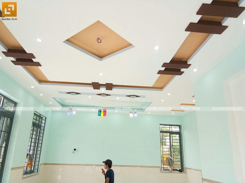 Hoàn thiện trần thạch cao, điện nước