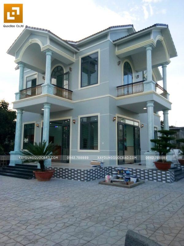 Biệt thự mái Thái 2 tầng đã hoàn thiện