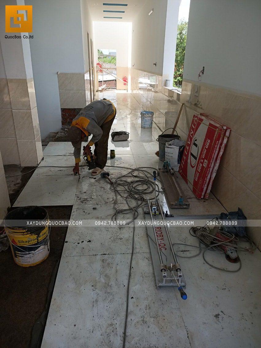 Ốp lát gạch nền, tường nhà - Ảnh 1